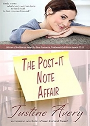 The Post-It-Note Affair by Justine Avery