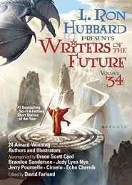 Writers of the Future volume 34 by Ron Hubbard and Brandon Sanderson